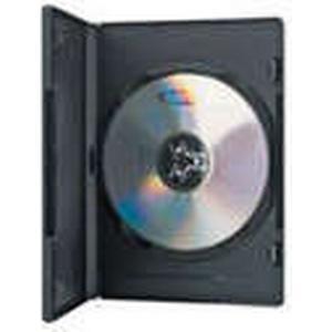 ASSMANN ednet 64046 - Leerhülle für CD, DVD, Blu Ray - Single Case für 1 Disc - Set aus 10 Stück - S