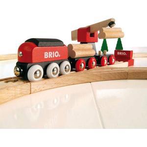 BRIO Holzeisenbahn ´´Fracht Set - Classic Line´´ Modell: 33010, 16-teilig (ab 2 Jahren)