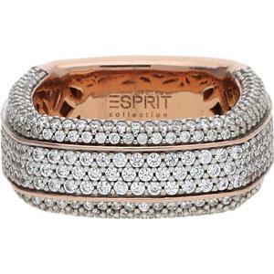 Damenringe (W) Fingerring Algea mit Zirkonia-Steinbesatz ELRG92385B Esprit rosegold