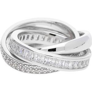 Damenringe (W) Fingerring aus Metall ESRG02258A Esprit Silber
