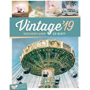Ackermann Kunstverlag Vintage - Wochenplaner 2019