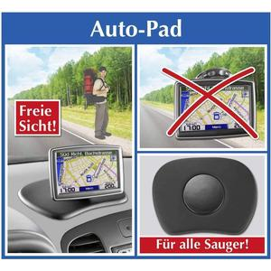 - Auto Pad Schwarz