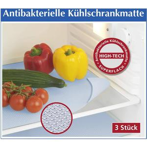 - Antibakterielle Kühlschrankmatte