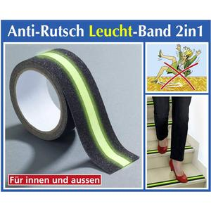 - Anti-Rutsch-Leuchtband 2 in 1