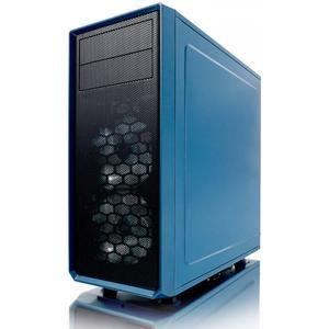 Fractal Design Focus G Blue Window, PC Gehäuse (Midi Tower mit Seitlichem Fenster) Case Modding für
