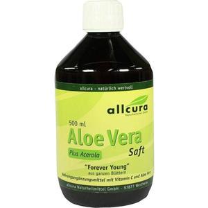 allcura Naturheilmittel GmbH Aloe Vera Forever young Saft 500 ml Saft