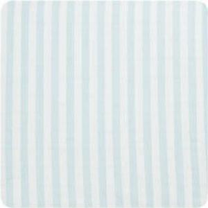 Alvi Wickelauflage 2er Keil Blockstreifen bleu 68 x 60 cm - blau