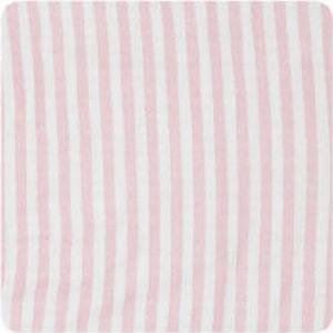 Alvi Wickelauflage 2er Keil Blockstreifen rosa 68 x 60 cm