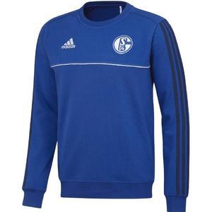 ADIDAS FC Schalke 04 Sweatshirt, Blau,