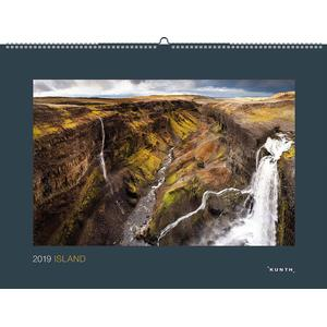 Kunth Island Kalender 2019 - 45 x 60 - Black Edition