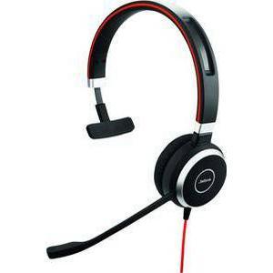 JABRA EVOLVE 40 UC Mono - nur Headset mit 3,5mm Klinke (Ohne USB Controller)