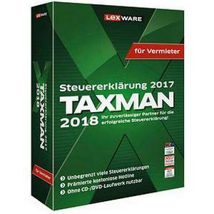 06860-0006 LEXWARE TAXMAN für Vermieter 2018 Vollversion