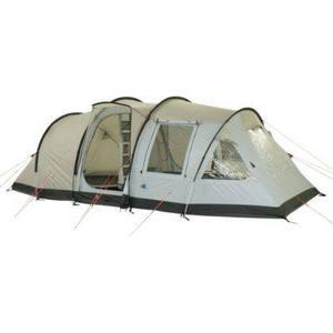10T Camping-Zelt Kenton 4 Tunnelzelt mit Schlafkabine für 4 Personen Outdoor Familienzelt mit Wohnraum, Zelt Belüftung, eingenähte Bodenwanne, wasserdicht mit 5000mm Wassersäule