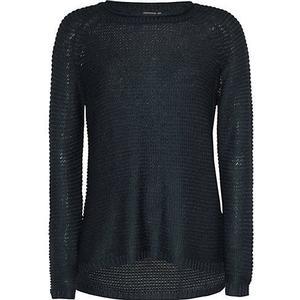 ICHI Pullover dunkelblau Damen Gr. 34