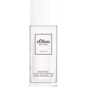 s.Oliver Damendüfte Black Label Women Deodorant Spray 75 ml