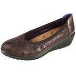 1-2-3.tv aloeloe Damen-Slipper, braun