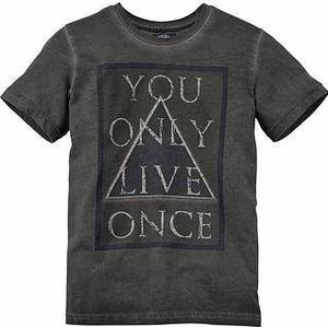 Buffalo T-Shirt »YOU ONLY LIVE ONCE«