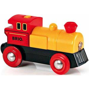 BRIO® Lokomotive mit Lichtfunktion, »BRIO® WORLD Gelbe Batterielok«