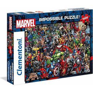 Clementoni Puzzle, 1000 Teile, »Marvel, Impossible Puzzle«