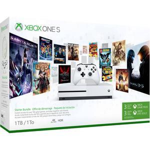 Microsoft Xbox One S 1TB - Starter Bundle