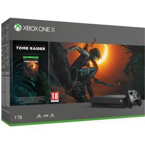Microsoft Xbox One X 1TB - Shadow of the Tomb Raider