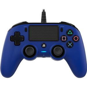 Bigben Nacon Wired Compact Controller (PS4) - Blue