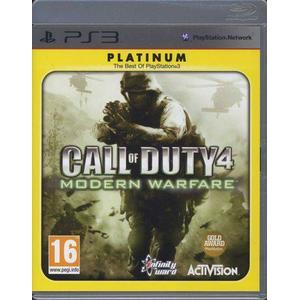 Call of Duty 4: Modern Warfare - Platinum