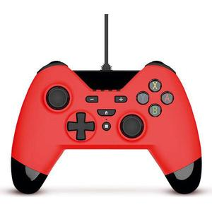 Gioteck WX4 Wired Controller (Switch) - Red
