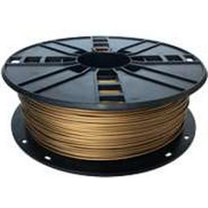 EXPRO WhiteBOX3D-Filament goldfarben mit 10p Metallpartikeln 1.75mm 1000g Spule