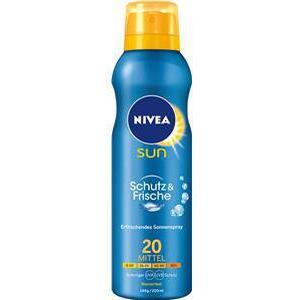 Nivea Sonnenpflege Sonnenschutz Sun Schutz & Frische Erfrischendes Sonnenspray LSF 50+ 200 ml