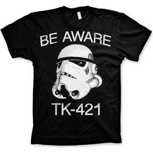 Star Wars Be Aware - TK-421 T-Shirt