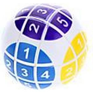 6cm Numerische Magic Ball Puzzle (weiß)