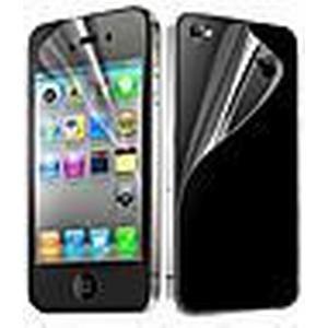 6X Clear Front-und Back-Schirm-Schutz für iPhone 4/4S