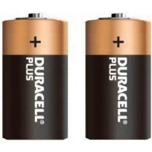 Duracell BATTERI C DURACELL PLUS 2-PACK