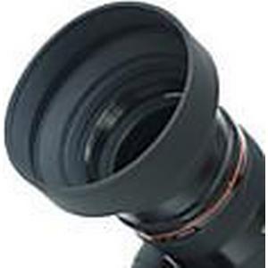 58mm Gegenlichtblende Gummi für Weitwinkel, Standard, Tele-Objektiv