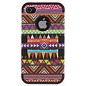 2-in-1-Design Nationalität Muster schützende Hülle für das iPhone 4/4S (verschiedene Farben)