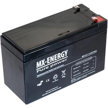 Laddningsbara batterier 12V 7Ah CT (AGM) batteri 151x65x94