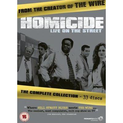Homicide - Life on the street: Complete (33-disc)