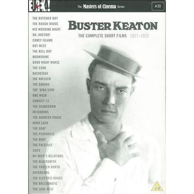 Buster Keaton: The Complete Short Films (4-disc + bok)