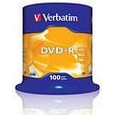 Verbatim DVD-R 4.7GB 16x Spindle 100-pack