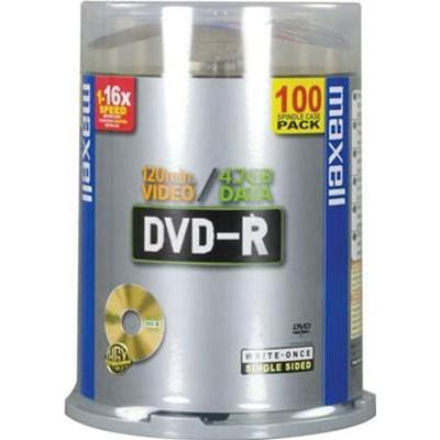 Maxell DVD-R 4.7GB 16x Spindle 100-Pack