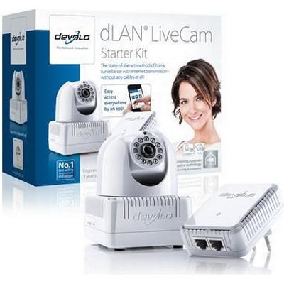 Devolo dLAN LiveCam Starter Kit Powerline 200Mbps