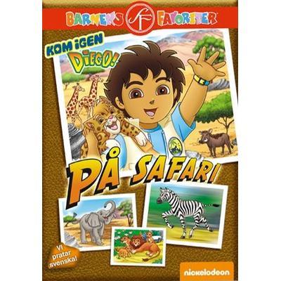 Kom igen Diego: På safari (DVD 2015)