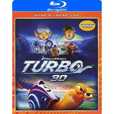 Turbo 3D: Deluxe edition (3D Blu-Ray 2013)