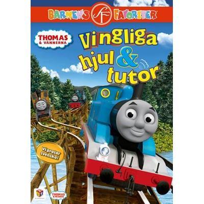 Thomas och vännerna: Vingliga hjul och tutor (DVD 2012)