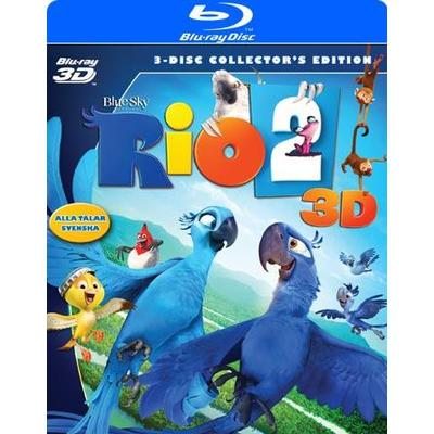 Rio 2 - Prövar vingarna i Amazonas 3D: C.E. (3D Blu-Ray 2014)