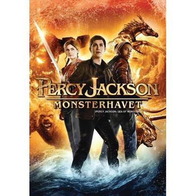 Percy Jackson 2: Monsterhavet (DVD 2013)