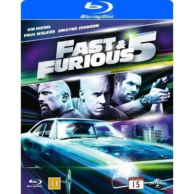 Fast & Furious 5 - Nyutgivning 2013 (Blu-Ray 2013)