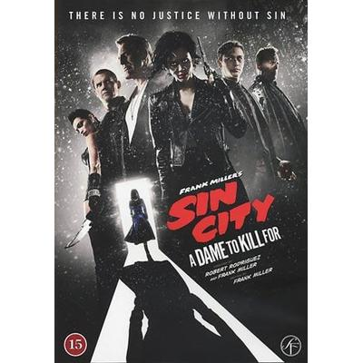 Sin City 2: A dame to kill for (DVD 2014)