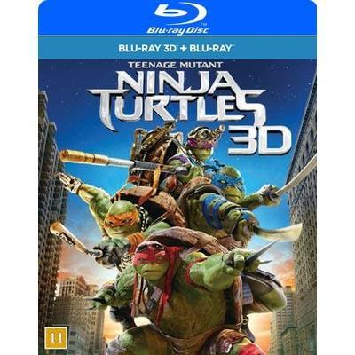 Teenage Mutant Ninja Turtles (3D Blu-Ray 2014)
